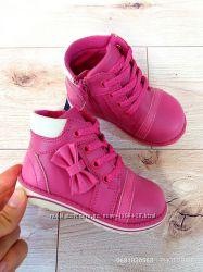Демисезонные ботинки для девочки р. 21 стелька 13 см