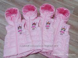 Жилетка для девочки кукла LOL 2-5лет