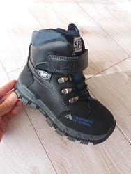Зимние ботинки сноубутсы для мальчика р. 27-32. Маломерят