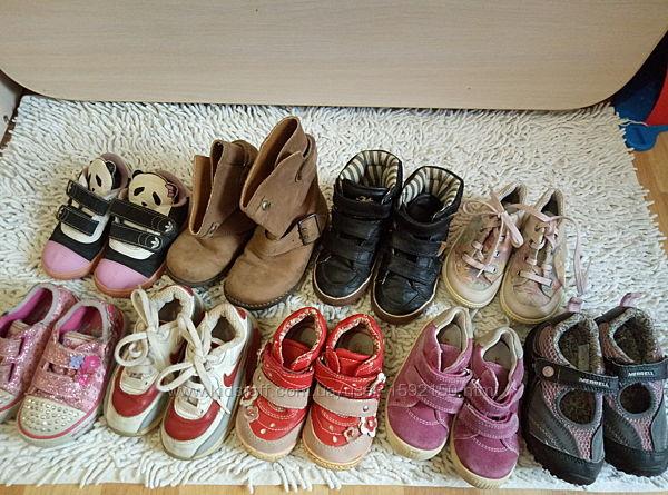 Фирменная обувь на девочку, кросовки, ботинки, сапоги, мокасины
