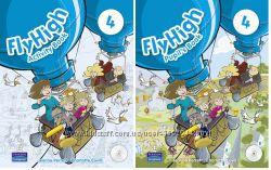 Продам Fly High 4  Pupil&acutes Book  Activity Book. Все уровни 1, 2, 3, 4