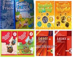 Цветные комплекты Family and Friends, English World, Fly High, Laser A