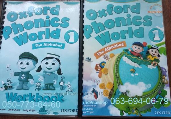 Oxford Phonix World  Fly High Украина English World English File Laser