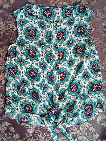 Свободная летняя блуза s