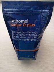 Витамины Ортомол Омега для детей в наличии