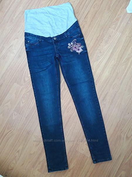 Новые фирменные джинсы скинни для беременных skinny Esmara сток