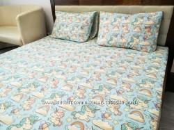 Единароги постельный комплект для детской кроватки