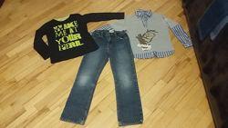 Пакет одежды для мальчика р. 128-134