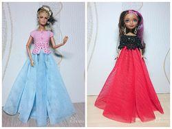 Вечерний наряд для Барби и Ever After High - юбка и блузка
