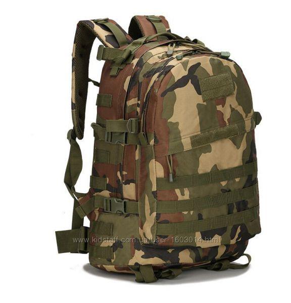 Тактический, походный рюкзак Military. 30 L. Камуфляжный, милитари.  T401