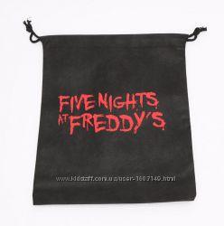 Мешок для игрушек 5 ночей с Фредди - Подарочная Сумка Аниматроники. Фнаф fn