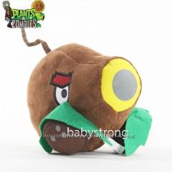 Мягкая плюшевая игрушка Растения против зомби Кокосовая Пушка из игры Plant