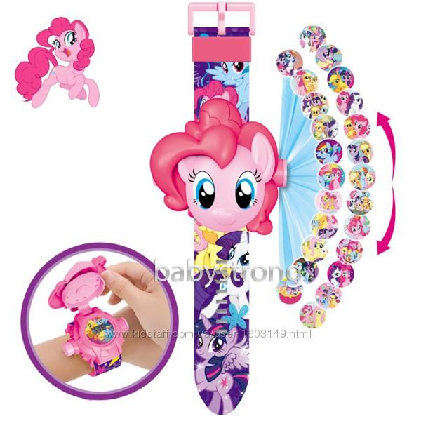 Проекционные детские часы Литл Пони My Little Pony - 24 вида героев .