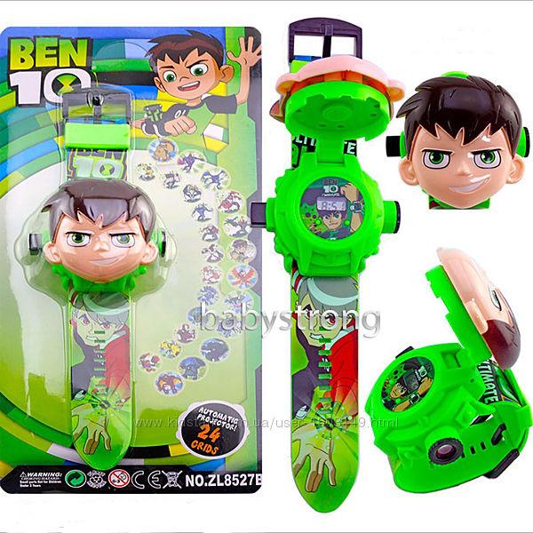 Проекционные детские часы Бен 10 - Ben 10  - 24 вида изображения героев