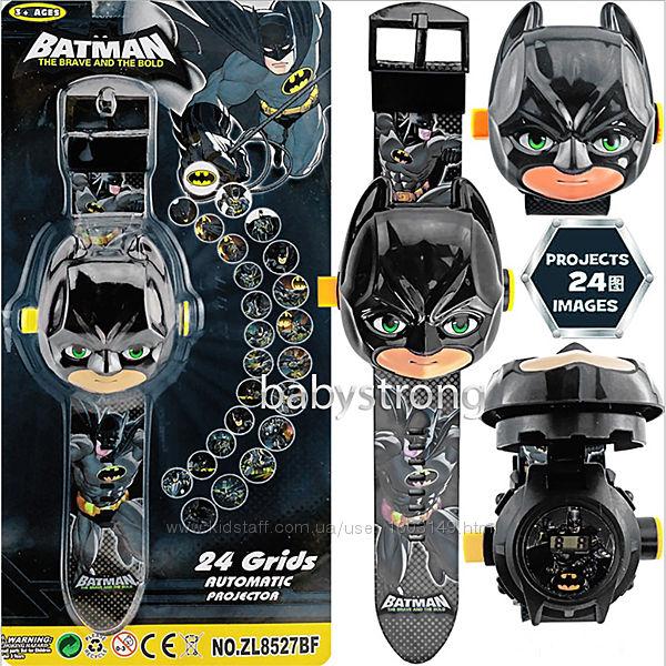 Проекционные детские часы Бэтмен - Batman  - 24 вида изображения героев