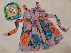 Фирм. нарядное пышное платье сарафан Jonh Rocha на 3-4-5 лет, 104 см