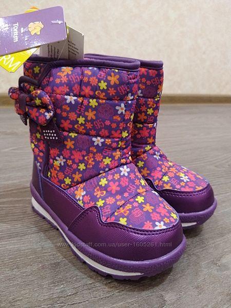 Дутики Том. м новые на девочку сноубутсы сапоги ботинки 24