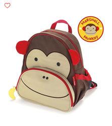 Детский рюкзак skip hop оригинал рюкзачок скип хоп обезьянка