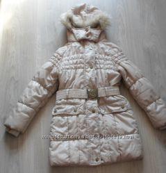 Зимняя детская подростковая куртка пальто девочка