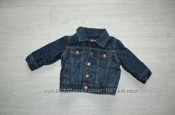 Курточка джинсова baby Gap 6 12 міс 70 см