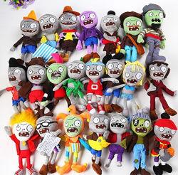 Зомби Мягкая игрушка Растения против зомби из игры Plants vs Zombies