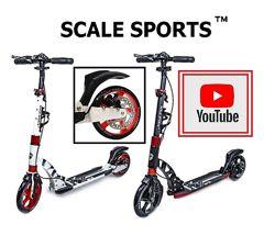 Самокат Scale Sports D-Max-230 Disc Дисковый тормоз.