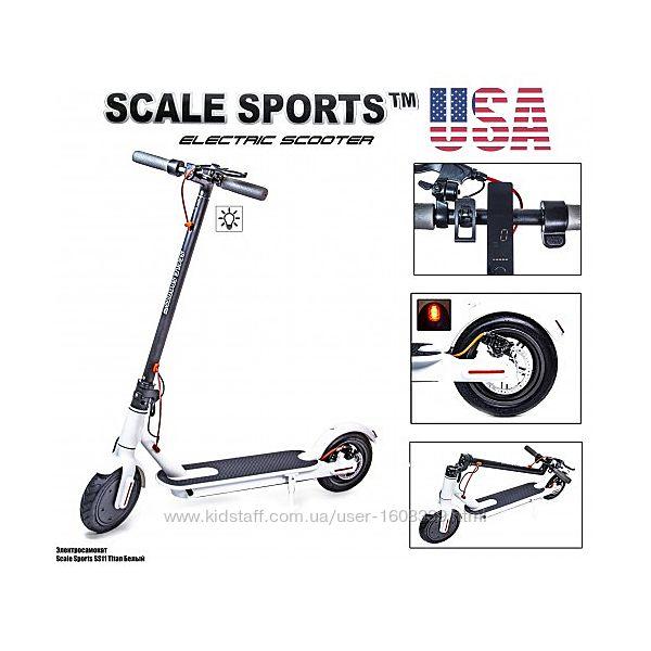 Электросамокат Scale Sports ss-11 Titan USA белый