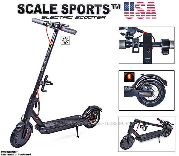Электросамокат Scale Sports ss-11 Titan USA черный