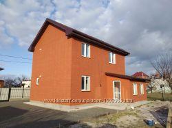 Новый дом 130м, 2 эт. 4 ком. 6 сот. Буча с частичным ремонтом