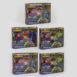 Набор героев Марвел  оружие-браслет с эффектами  3 вида в наличие