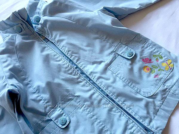 Курточка-ветровка для девочки Іmpidimpi 98-104