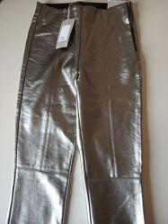 Стильные стрейчевые брюки zara, леггинсы