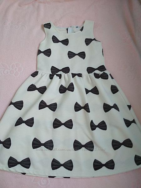 Красивое платье H&M 8-10 лет