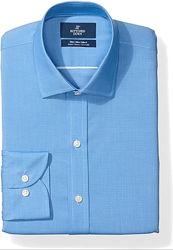 Рубашки Buttoned Down дресс код, под костюм из Пима хлопка премиум класса