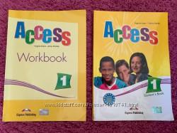 книга и тетрадь по английскому языку