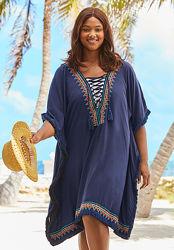 Туника пляжная , платье на пляж бохо.