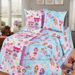 Детский комплект постельного белья Лол куколки 2073c275b50dc