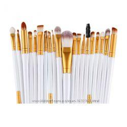 Кисти для макияжа профессиональные набор 20 шт. качество