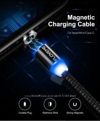 Магнитный USB кабель зарядка под micro USB Floveme коннектор