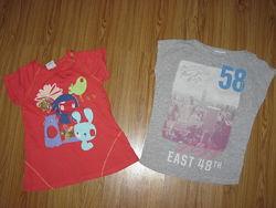 Распродажа девочке фирменные футболочки от 3-6 лет