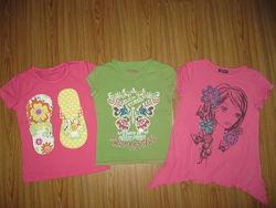 Распродажа девочке фирменные футболочки от 6-9 лет