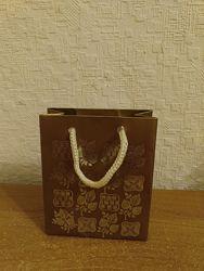 Пакет подарочный маленький