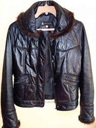 Кожаная куртка, с ошибкой норки