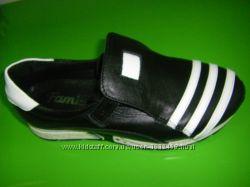 Кожаные кроссовки отличного качества, унисекс