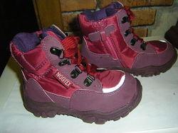 Зимние сапожки, ботинки для малышей, кожа, Бельгиия