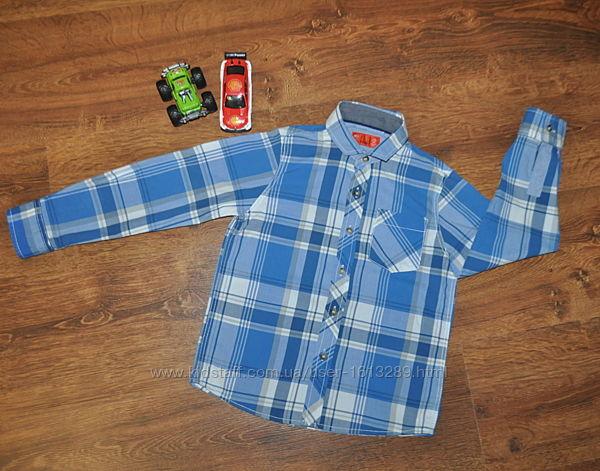 Рубашка Next мальчику на 5 лет, рост 110 см, хлопок