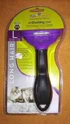 Furminator professional L long hair фурминатор для котов с длинной шерстью