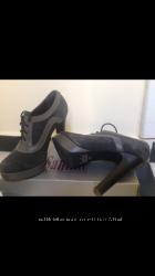 Ботинки замшевые Santini