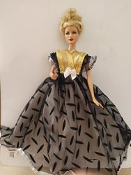 Кружевные роскошные платья для Барби