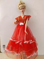Кружевные роскошные платья для Барби Отличное качество, кружева, бусины